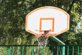 Basketball basket — Stock Photo