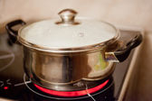 Electric stove — Stock Photo