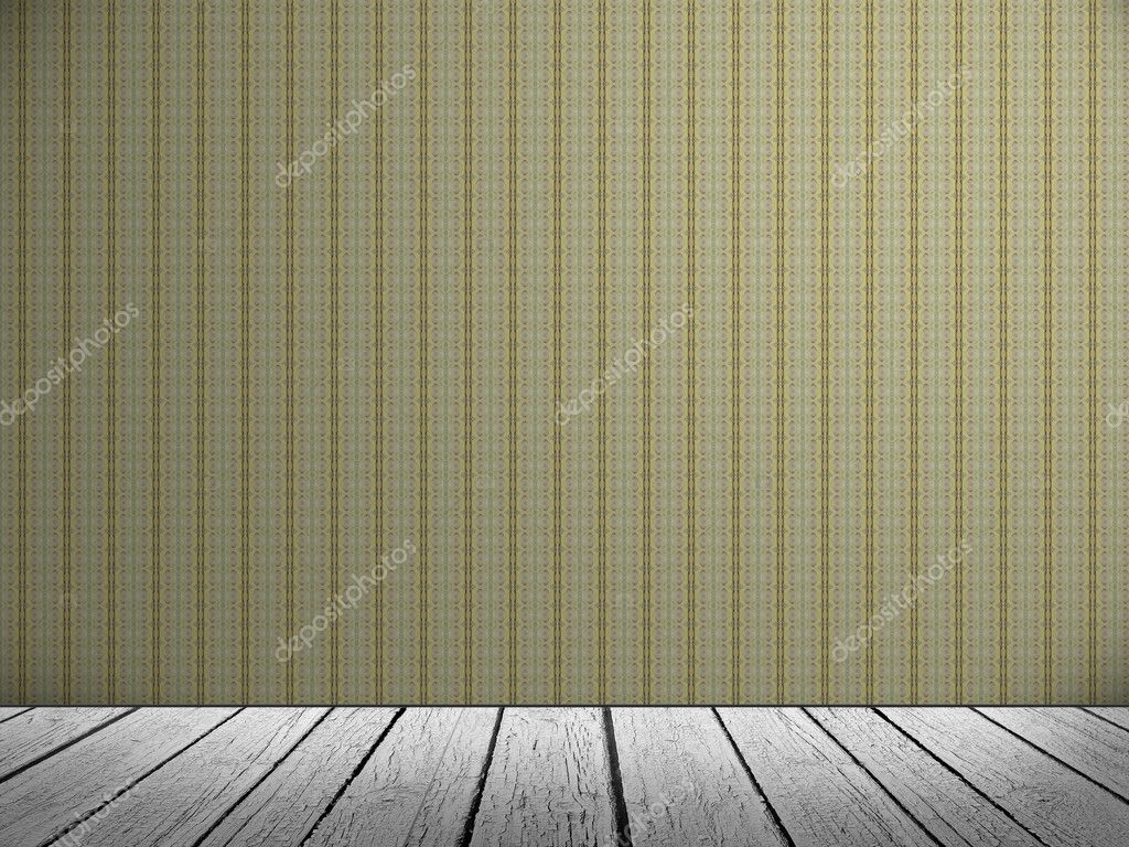 Empty a white Interior of vintage room. Realistic 3D — Stock Photo #11401614