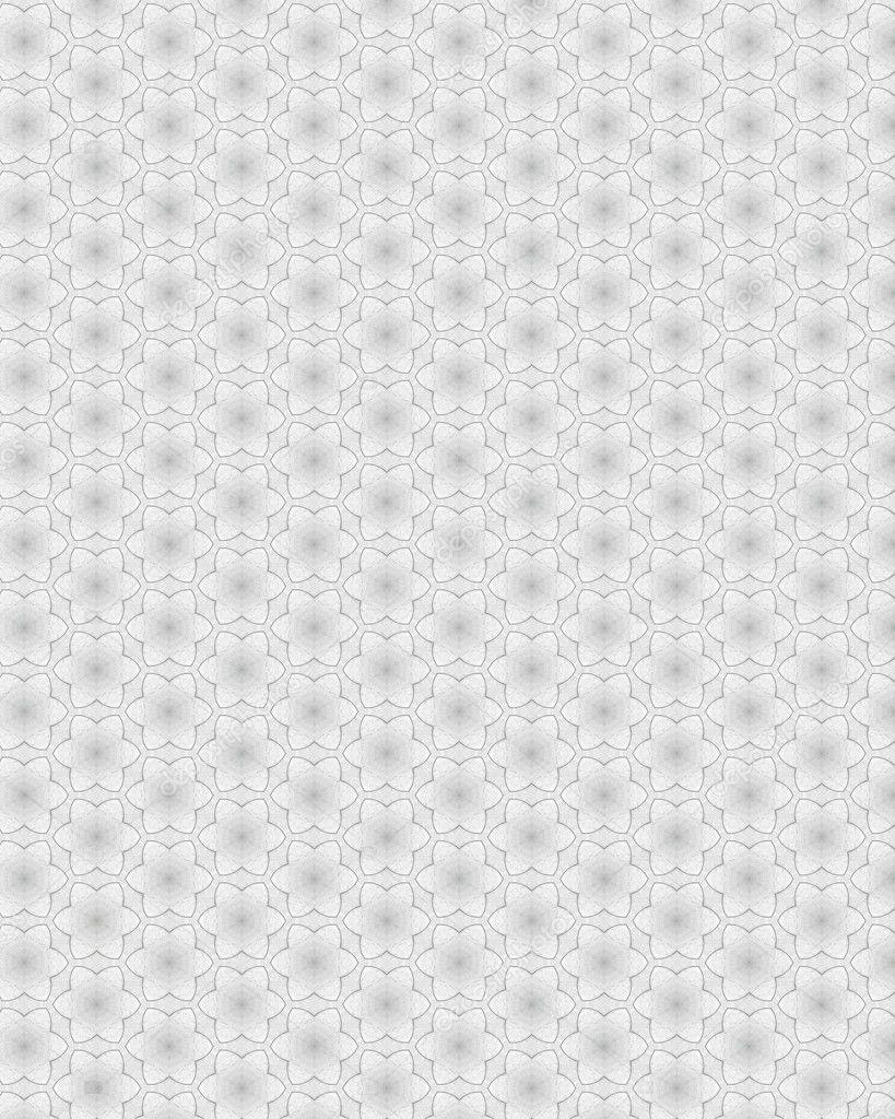 美丽的花纹的白色纸张表面