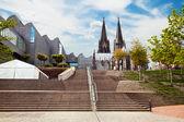 Katedra w kolonii — Zdjęcie stockowe
