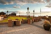 Centrum rekreacji w pobliżu morza — Zdjęcie stockowe