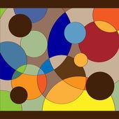 Beautiful multicolor background — Stock Vector
