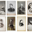 Постер, плакат: Group of old photographs