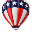 Balloon a symbol of the USA — Stock Photo