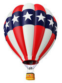 Balloon a symbol of the USA — Stock Photo