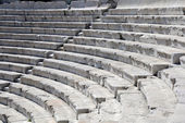 Closeup Ancient Theater in Plovdiv — Stockfoto