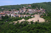 Trapezitsa Fortress and Residential Area of Veliko Tarnovo — Stock Photo