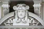 Art Nouveau Bas-relief — Stock Photo