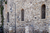 Fragment of Medieval Wall in Heraklion — Stock Photo