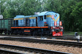 Vintage Diesel Electric Locomotive — Stock Photo