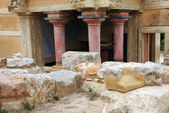 Fragment of Ancient Minoan Palace — Stock Photo