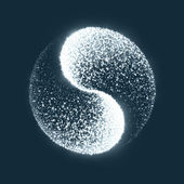 Jing jang — Stock vektor