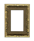 Picture photo frame to put your own pictures in (isolated with c — Stock Photo