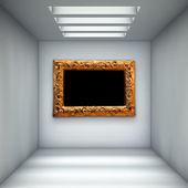 Empty gallery — Stock Photo