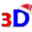 Stock Photo: 3d movies santhat