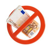 Euro no financial crisis — Stock Photo