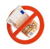 Euro no financial crisis — Stock Photo