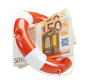 Help euro financial crisis — Stock Photo