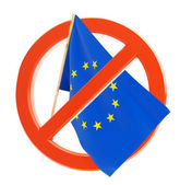 Crisis in the european union — Stock Photo