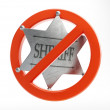 Stock Photo: No sheriff