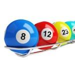 Lottery balls — Stock Photo #11619794