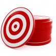 Target red — Stock Photo