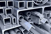 Tubos de metal — Foto de Stock