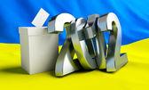 Votare ucraina 2012 — Foto Stock