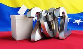 Vote Venezuela 2012 — Stock Photo