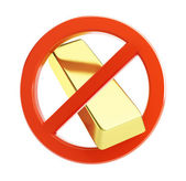 No gold — Stock Photo