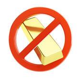 No gold — Stock Photo