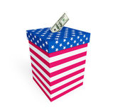 Price of vote in elections in the U.S. — Stock Photo
