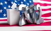 Vote usa 2012 — Stock Photo
