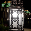 Arabic Retro street lamp at dark night — Stock Photo