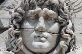 Medusa Gorgon in Apollo Temple — Stock Photo