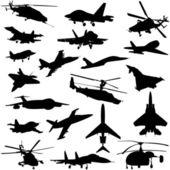 Transporte aéreo — Vetorial Stock