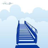 Escalator — Cтоковый вектор