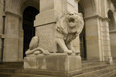Lion of New Townhall, Hanover — Stock Photo