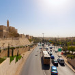 Traffic in Jerusalem — Stock Photo