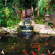 Stock Photo: Decorative pond