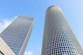 Two buildings of Azrieli Center — Stock Photo