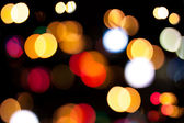 Bright defocused colorful lights — Stock Photo