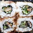 Sushi roll closeup — Stock Photo