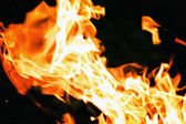 Flame background — Foto Stock