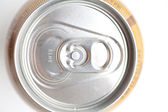 Top view soda can isolated — Stock Photo