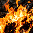 Stock Photo: Inferno fire