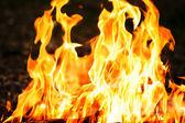 Fiery background — Stock Photo