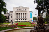 Opera theatre in Riga — Stock Photo