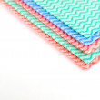 Stock Photo: Color napkins